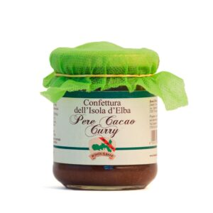 Confettura di Pere, Cacao e Curry - Bontà Elbane