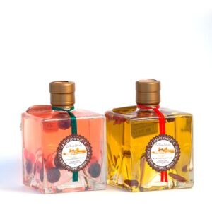 Olio Peperoncino e Aceto ai Frutti di Bosco - La Corte Ghiotta