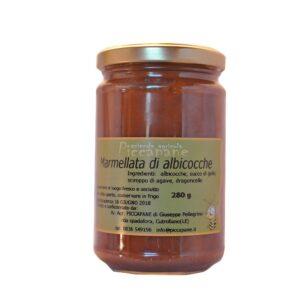 Marmellata di Albicocche 280 g Biologica - Piccapane