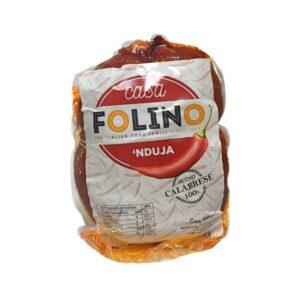 'Nduja calabrese di Spilinga in Crespone Casa Folino