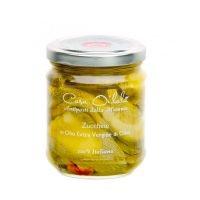 Zucchine in olio extravergine di oliva 190 g- Oilalà