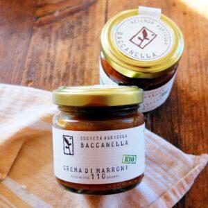 Crema di Marroni biologica - Baccanella