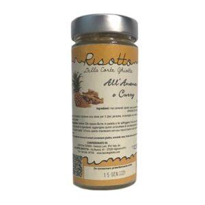 Risotto all'Ananas e Curry - 250 g - La Corte Ghiotta
