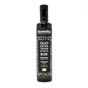 Bottiglia Olio extravergine di Oliva biologico Blend - Buondioli
