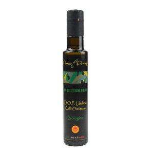 Bottiglia Olio extravergine di oliva Biologico DOP Umbria Colli Orvietani - podere Panolfo
