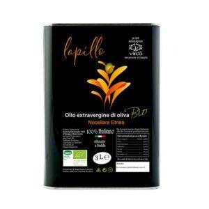 Lattina Olio Extravergine di Oliva BIO - Lapillo - 3 l