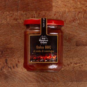 La nostra salsa BBQ al miele di montagna Massimo Goloso