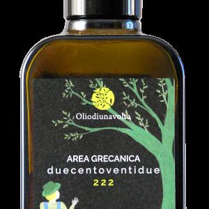 Area Grecanica 222 - Monocultivar Ottobratico - 250 ml