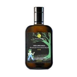 Olio Extravergine di Oliva - Area Grecanica 222 - Monocultivar Ottobratico - 500 ml