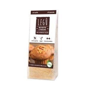 Legù Miscela per Muffin e Pancake - 120 g