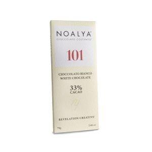 Tavoletta di Cioccolato 101 Bianco 33% Noalya
