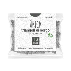 Triangoli di Sorgo e Fagioli Neri - 30 g